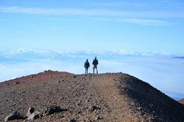 On the way to the top of volcano - Mauna Kea, Hawaii Fototapete