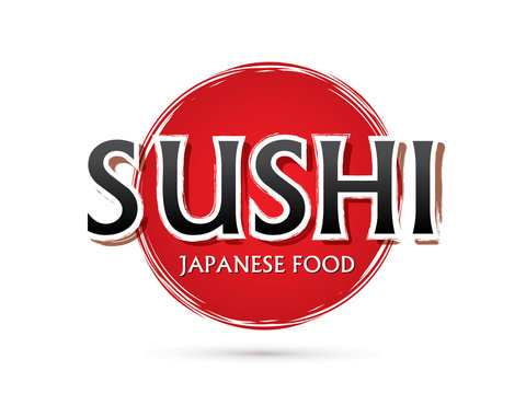 Sushi, Font , text graphic vector