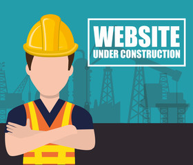 website under construction design