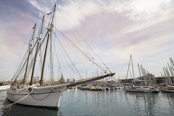 barcelona harbor spain