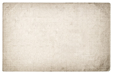 Grungy textured paper background. Cardboard edges