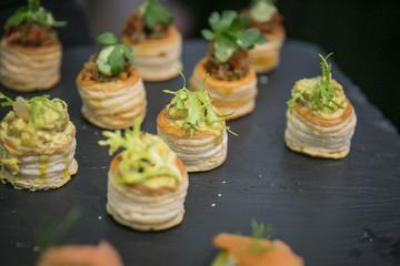 Catering, Buffet und Fingerfood / Blätterteig