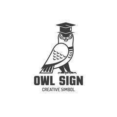 Owl Flat Logo