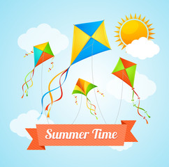 Summer Card. Vector