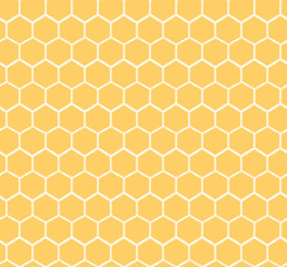 Seamless Honeycomb Pattern