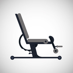 Gym machine design , vector illustration
