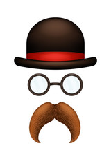 Picture of mustache