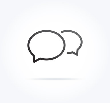 Message Bubbles Icon