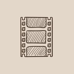 Negative sketch icon.