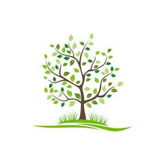 plant tree garden logo