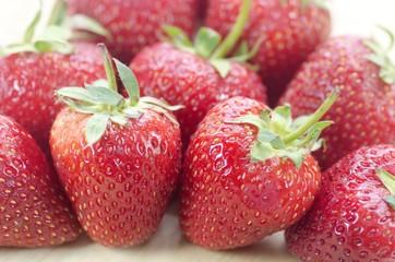 Strawberry fresh fruit