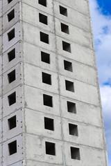 concrete multistore house