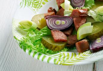 Schwabischer Wurstsalat