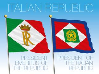italian president flags
