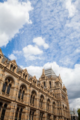 Natural History Museum in London- building and details
