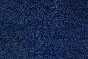Dark blue leather texture.