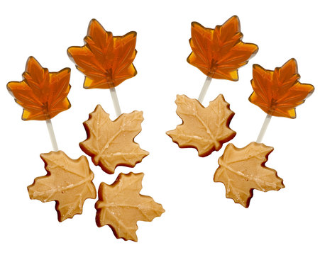 Maple Sugar Candies and Lollipops