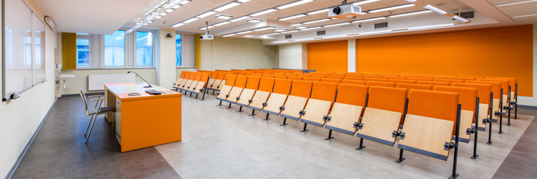 Up-to-date designed lecture classroom