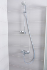 Stainless steel and chrome shower fittings