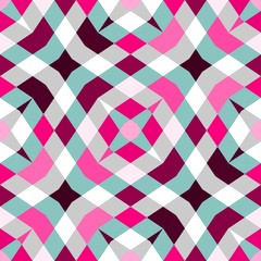 Abstract seamless geometric patterns. Kaleidoscope seamless geometric patterns.