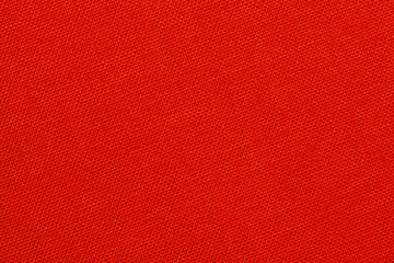 Red textile texture