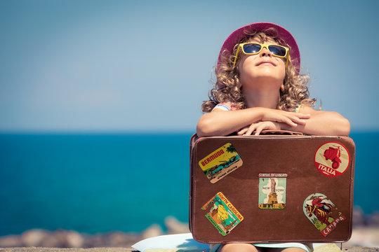 Child on vacation