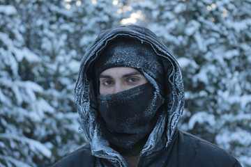 A man travelling to Alaska