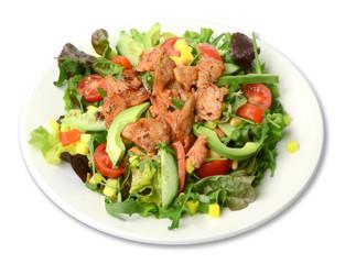 Salat mit Fleisch
