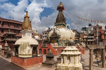 Kathesimbu Stupa is Buddhist stupa in Kathmandu, Nepal.