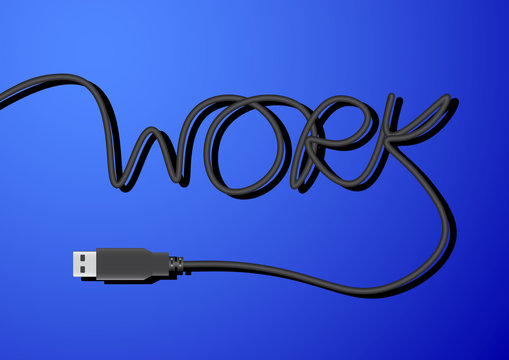 USB Line Word Work