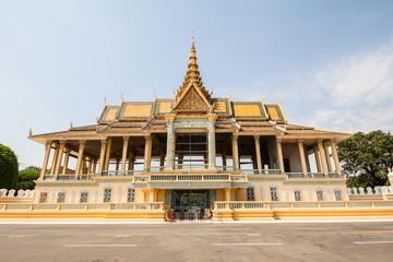 Chan Chhaya Pavilion, Royal Palace in Phnom Penh, Cambodia.