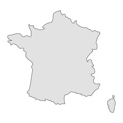 Territory of  France