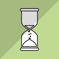 time icon design, vector illustration
