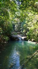 waterfall in erawan national park