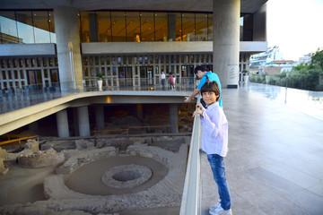 Visit New Acropolis museum Athens Greece