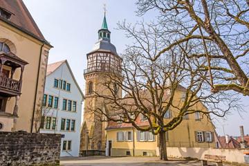Backnang, abbey church