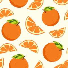 Fruit pattern backgrounds, healthy food, seamless vector wrapping