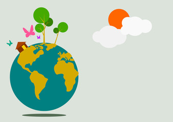 Earth Day Vector Art