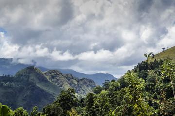 Ella amazing landscape of mountains in Sri Lanka