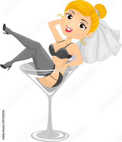 Bachelorette Party Cartoon Images