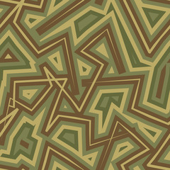 Abstract Geometric Military camouflage background. Protective se