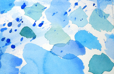 abstract watercolor background design washes
