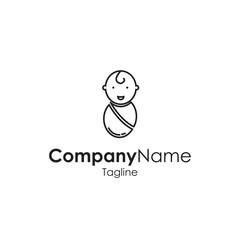 Baby Toys Children Icon Vector Store Logo