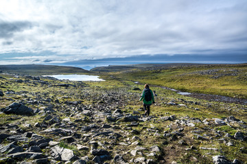 Wanderung zum Knivskjellodden