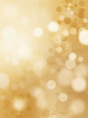 Abstract golden stars background luxury Christmas holiday