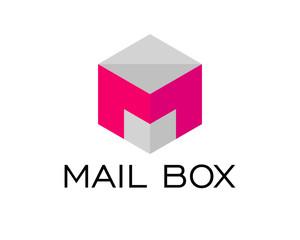 Letter M Mail Box Hexagonal
