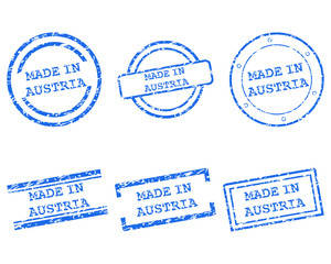 Made in Austria Stempel