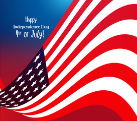 4th of July, American Independence Day celebration background