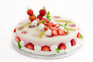 torta alle fragole
