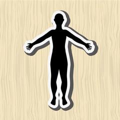human figure design